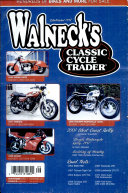 WALNECK S CLASSIC CYCLE TRADER  SEPTEMBER 2001