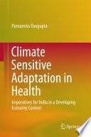 Climate Sensitive Adaptation in Health Book