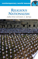 Religious Nationalism  A Reference Handbook