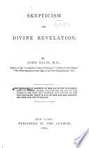 Skepticism and Divine Revelation Book