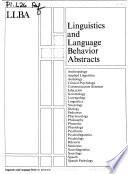 Linguistics and Language Behavior Abstracts