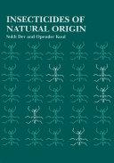 Insecticides of Natural Origin Pdf/ePub eBook