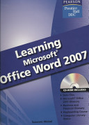 Learning Microsoft Office Word 2007