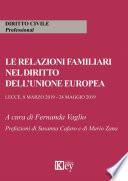 Le relazioni familiari nell'unione europea
