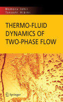 Pdf Thermo-fluid Dynamics of Two-Phase Flow