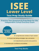 ISEE Lower Level Test Prep Study Guide