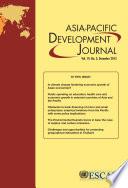 Asia Pacific Development Journal Vol 19 No 2 December 2012