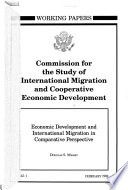 Economic Development and International Migration in Comparative Perspective