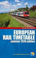 European Rail Timetable Summer 2010