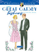 Creative Haven The Great Gatsby Fashions Coloring Book