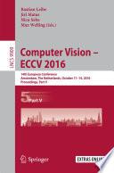 Computer Vision     ECCV 2016 Book