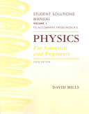 Student Solutions Manual for Tipler and Mosca s Physics for Scientists and Engineers  Sixth Edition  Chapters 1 20