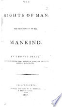 The Rights of Man for the Benefit of All Mankind