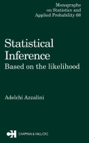 Statistical Inference Based on the likelihood