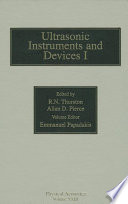 Reference for Modern Instrumentation  Techniques  and Technology  Ultrasonic Instruments and Devices I