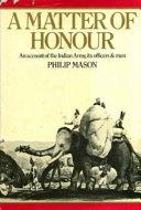 Pdf A Matter of Honour