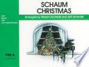Schaum Christmas  Pre A  The Green Book