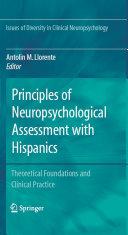 Principles of Neuropsychological Assessment with Hispanics Pdf/ePub eBook