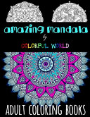 AMAZING MANDALA   Adult Coloring Books