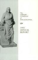 Library Company of Philadelphia  1993 Annual Report