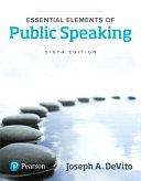 Essential Elements of Public Speaking