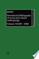 Ibss Anthropology 1988