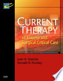 Current Therapy Of Trauma And Surgical Critical Care E Book Book PDF