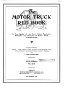 The Motor Truck Red Book
