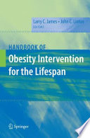 Handbook Of Obesity Intervention For The Lifespan Book PDF