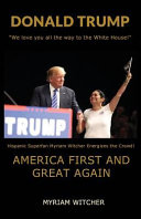 Donald Trump America First And Great Again