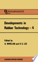 Developments in Rubber Technology   4 Book