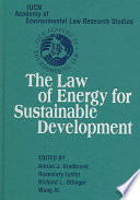 The Law Of Energy For Sustainable Development Book PDF