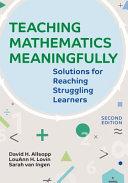Teaching Mathematics Meaningfully Book PDF