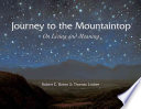 Journey to the Mountaintop Book