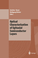Optical Characterization of Epitaxial Semiconductor Layers