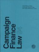 Campaign Finance Law 1994 Pdf/ePub eBook