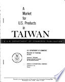 A Market For U S Products Taiwan PDF