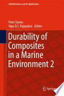 Durability of Composites in a Marine Environment 2 Book