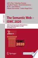 The Semantic Web - ISWC 2020