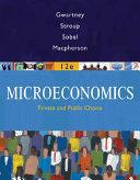 Microeconomics: Public and Private Choice