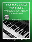 Beginner Classical Piano Music Book