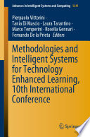 Methodologies and Intelligent Systems for Technology Enhanced Learning  10th International Conference