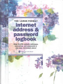 Hydrangeas Large-format Internet Address & Password Logbook