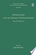 Kierkegaard and His German Contemporaries: Theology