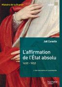 Pdf L'affirmation de l'État absolu 1492-1652 Telecharger