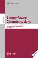 Energy Aware Communications