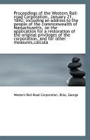 Proceedings Of The Western Rail Road Corporation January 21 1842