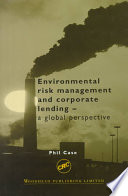 Environmental Risk Management and Corporate Lending Book
