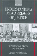 Understanding Miscarriages of Justice Book