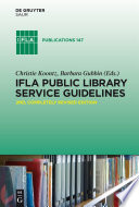IFLA Public Library Service Guidelines